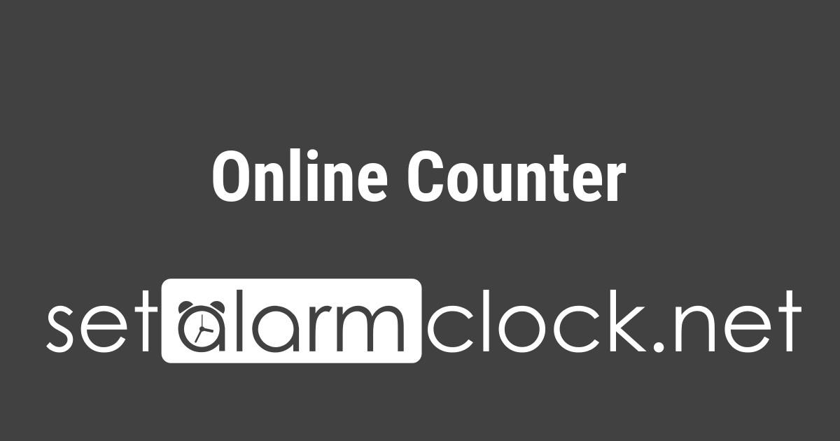 Online Counter