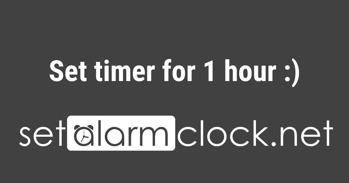 google timer 5 mins
